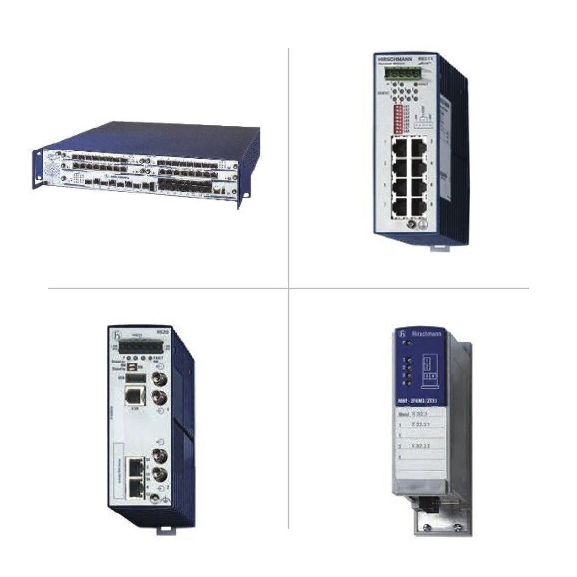 Hirschmann Managed & Unmanaged Switches